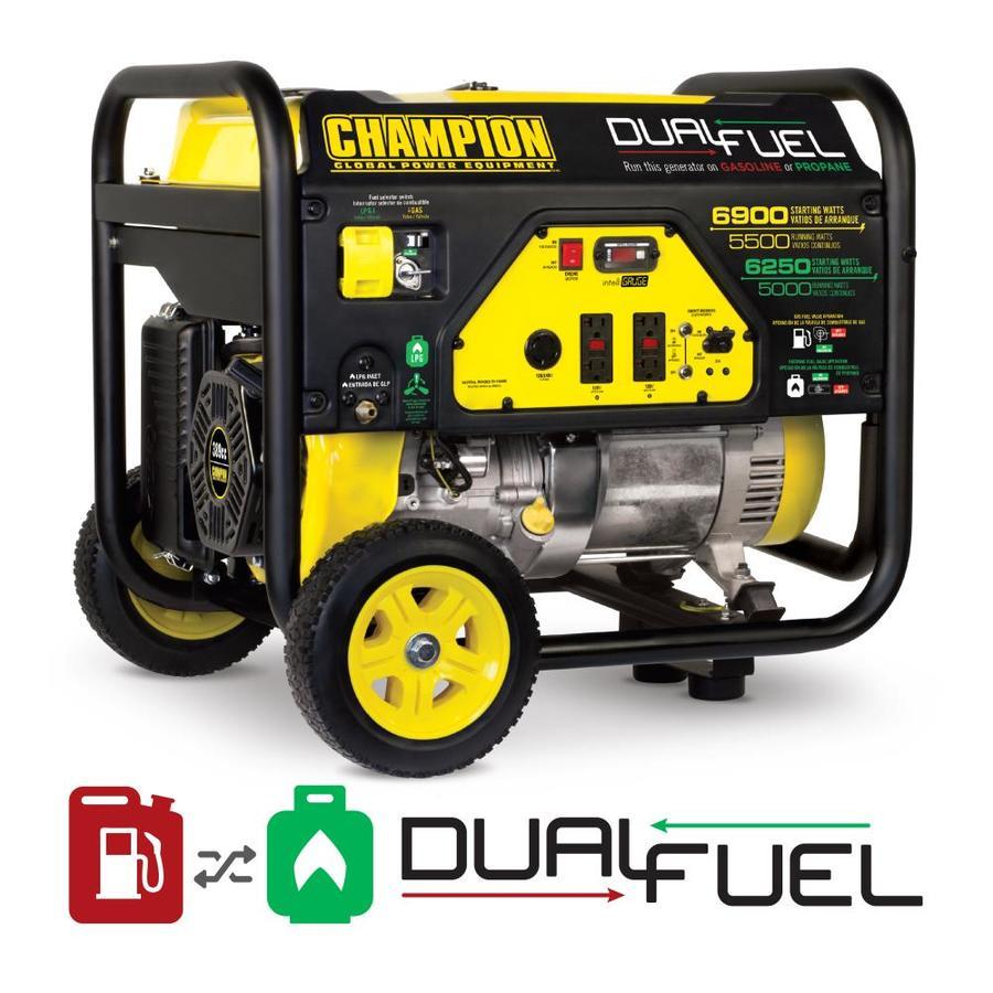 Champion Power Equipment 5500-Running-Watt Portable Generator with Engine