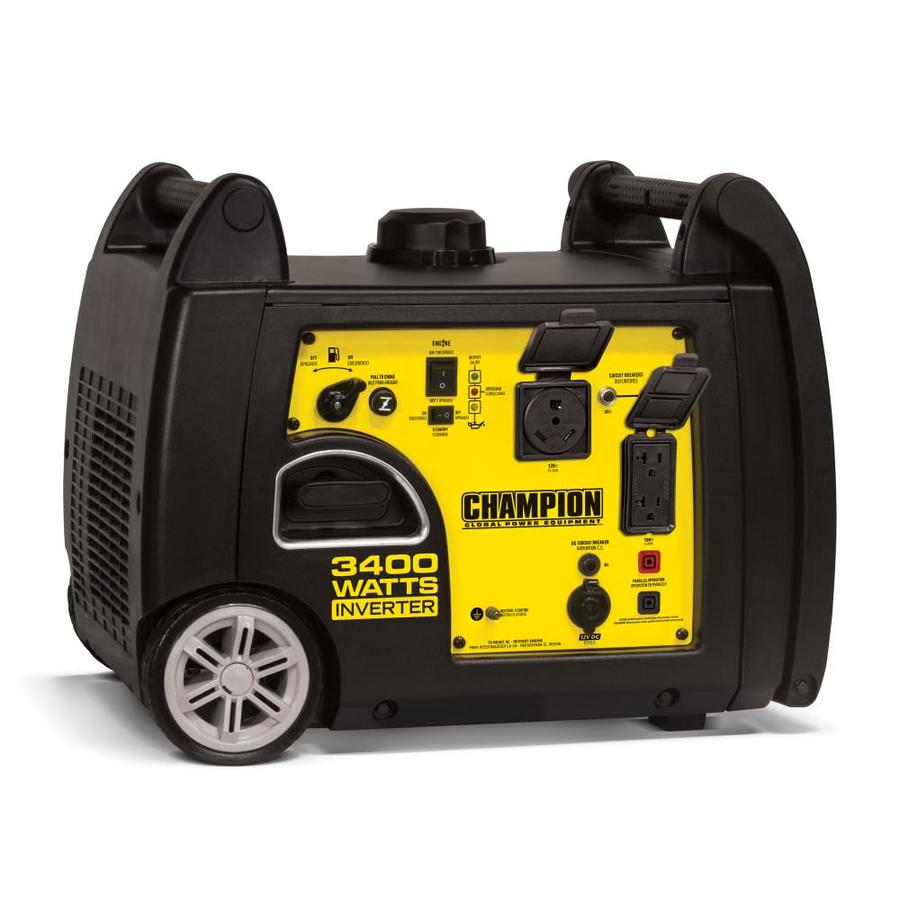 Champion Power Equipment 3100-Running-Watt Inverter Portable Generator with Champion Engine