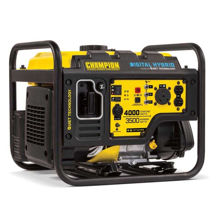 Shop Champion Power Equipment 3500-Running-Watt Portable Generator with Engine at Lowes.com