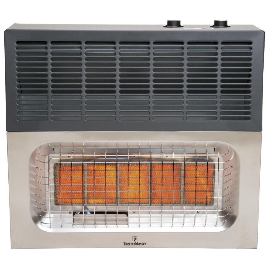 Thermablaster 25,000-BTU Wall-Mount Natural Gas or Liquid Propane Vent-Free Infrared Heater
