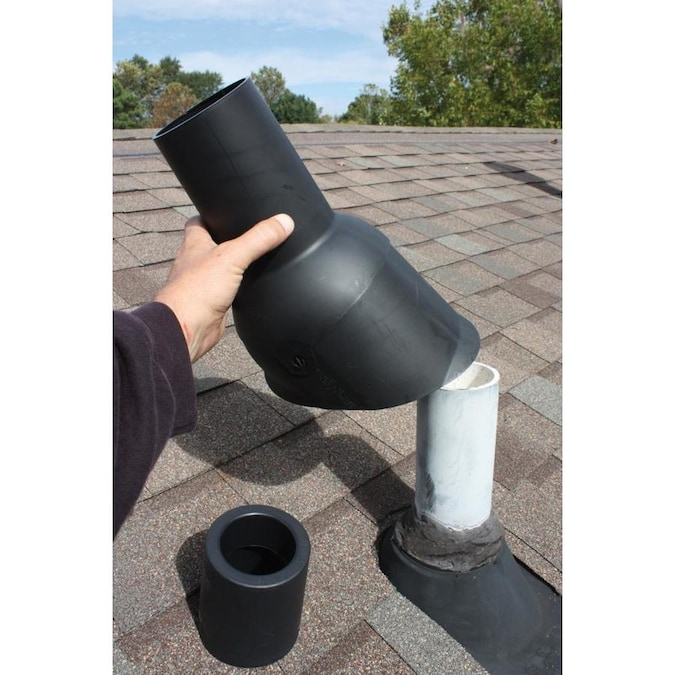 Perma Boot 1 1 2 In X 11 125 In Plastic Vent And Pipe Flashing In The Vent Pipe Flashing Department At Lowes Com