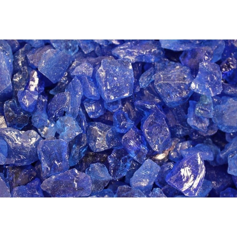 Exotic Glass Ocean Blue Fire Glass