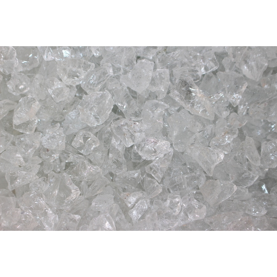 Exotic Glass Ice Clear Glass Fire Glass