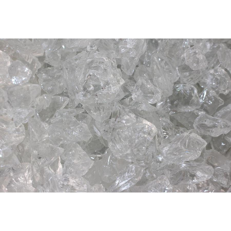 Exotic Glass Ice Clear Fire Glass