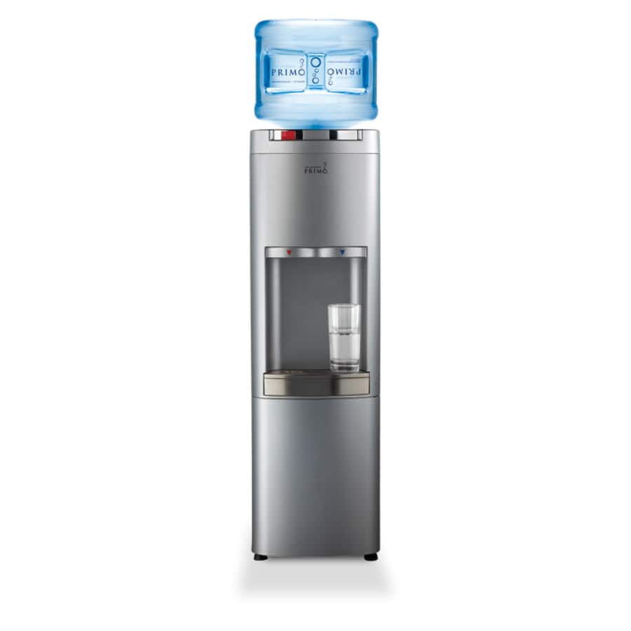 primo silver toploading cold and hot water cooler energy star - Primo Water Cooler