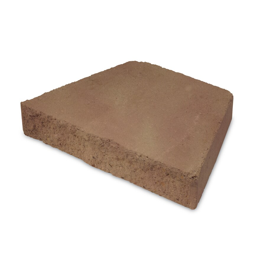 Insignia Tan and Charcoal Retaining Wall Cap (Common: 2-in x 12-in; Actual: 2.5-in x 11.5-in)