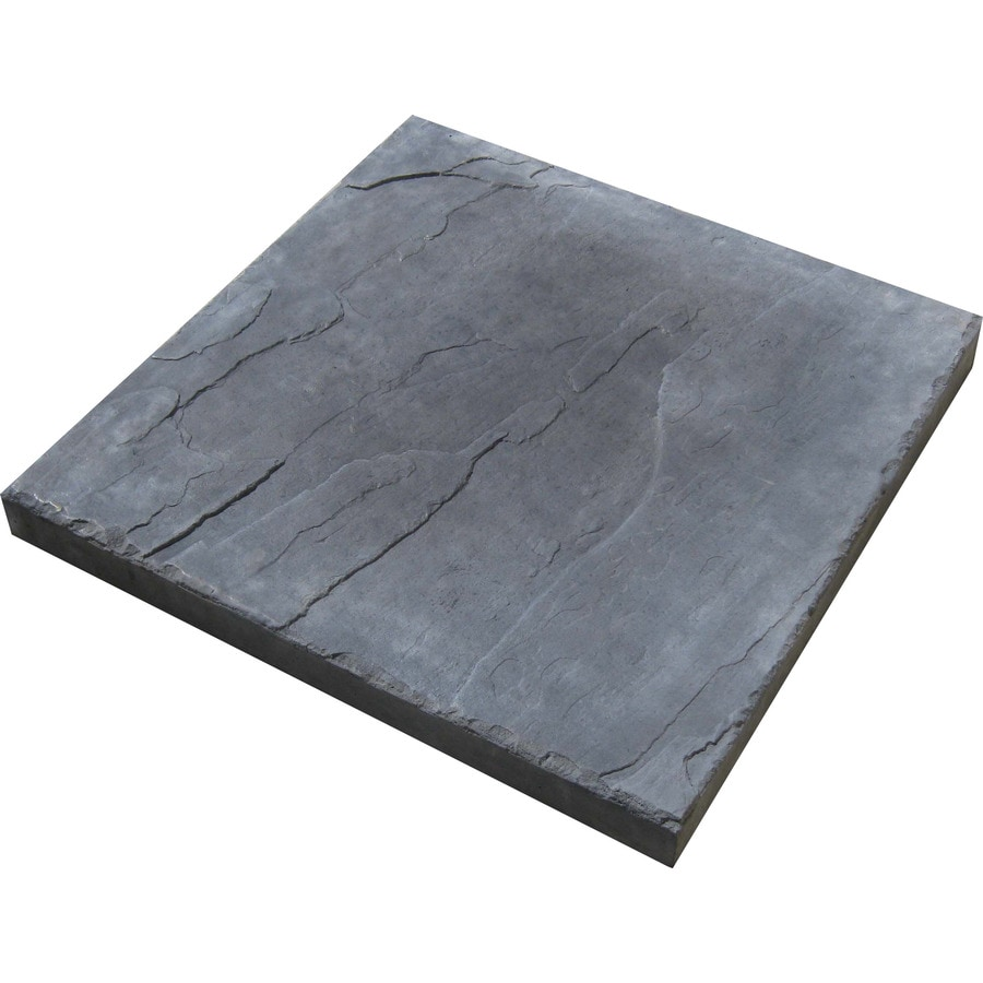 Charcoal Patio Stone (Common: 12-in x 12-in; Actual: 12-in x 12-in)