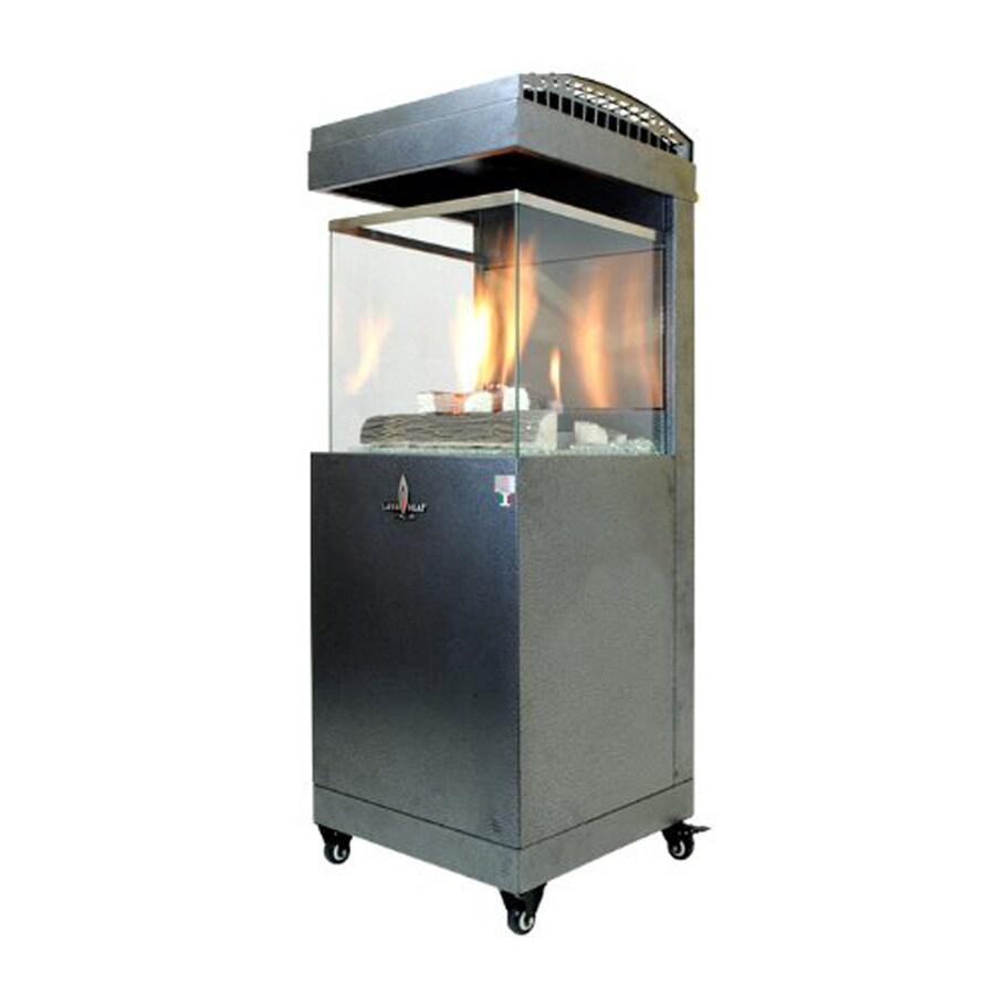 41 000 Btu Carbon Gray Steel Liquid Propane Patio Heater