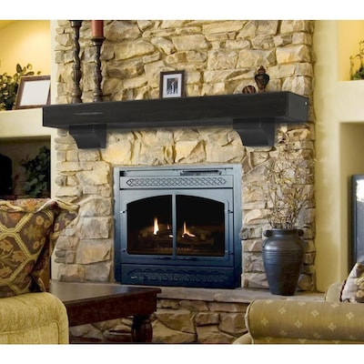 Surprising Pearl Mantels Shenandoah 72 In W X 10 5 In H X 9 In D Download Free Architecture Designs Scobabritishbridgeorg