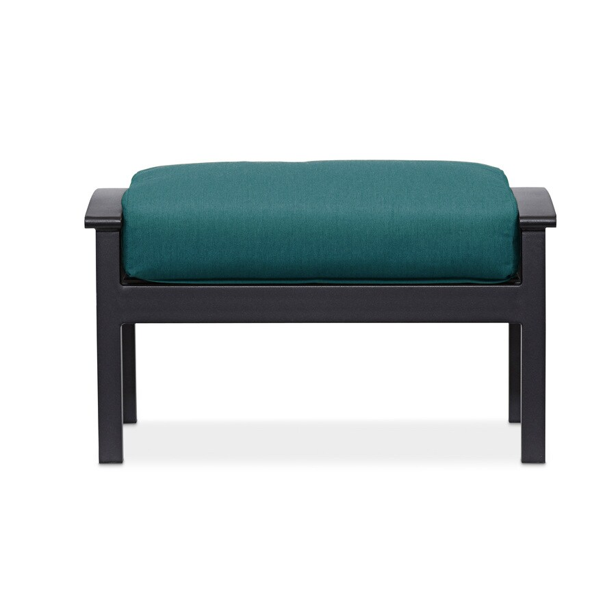 allen + roth Carrinbridge Brown Ottoman