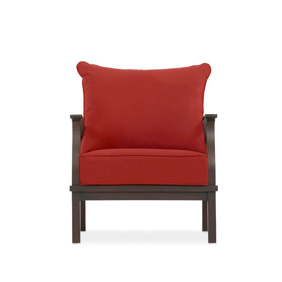 Allen Roth Gatewood Set Of 2 Aluminum Conversation Chair