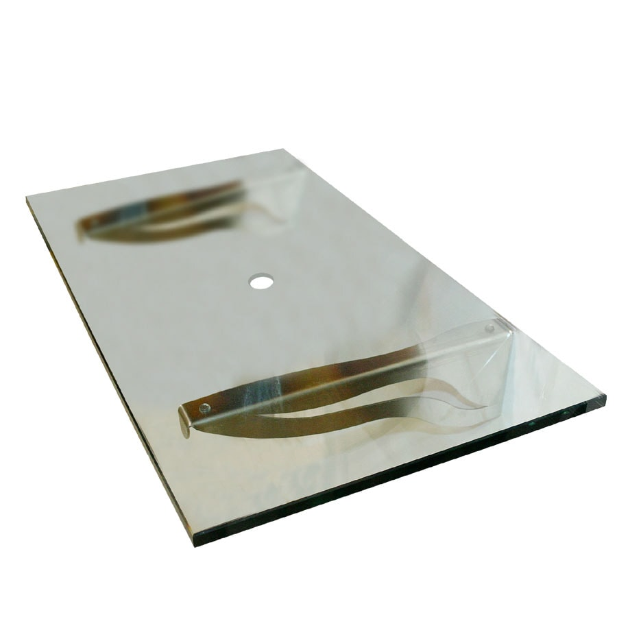 Glass Bathroom Vanity Tops shop contemporary bath design glass single sink bathroom vanity