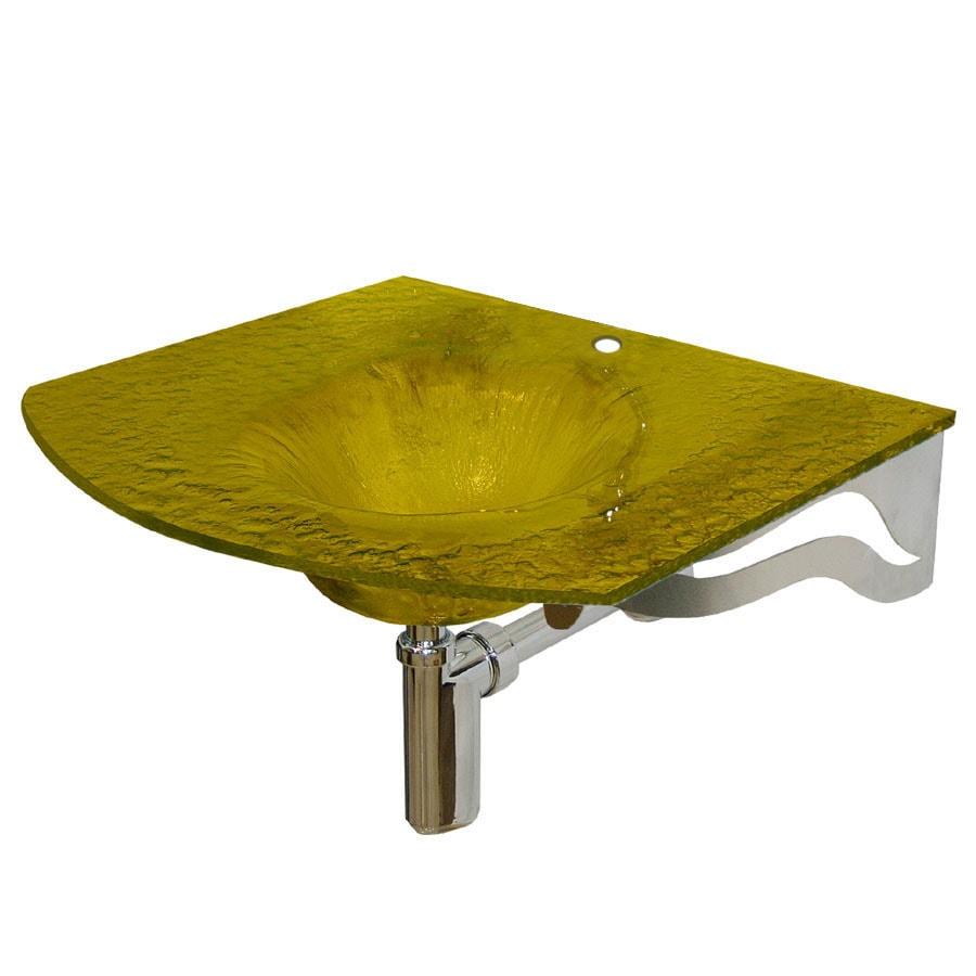 Contemporary Bath Design Glass Bathroom Sink