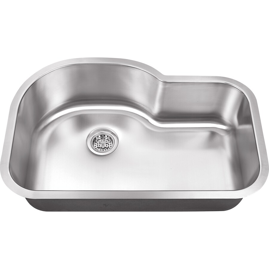Superior Sinks 21.125-in x 31.5-in Brushed Satin Single-Basin Stainless Steel Undermount Residential Kitchen Sink