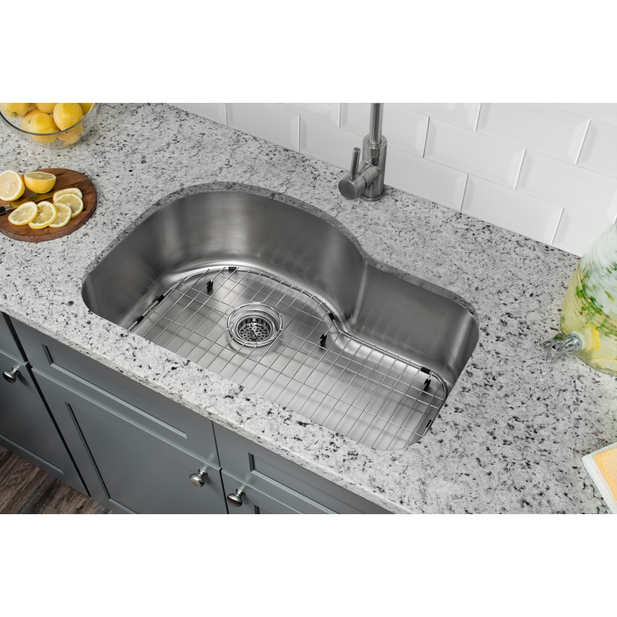 Superior Sinks 21.125-in x 31.5-in Satin Brush Stainless Steel Single-Basin Undermount Residential Kitchen Sink