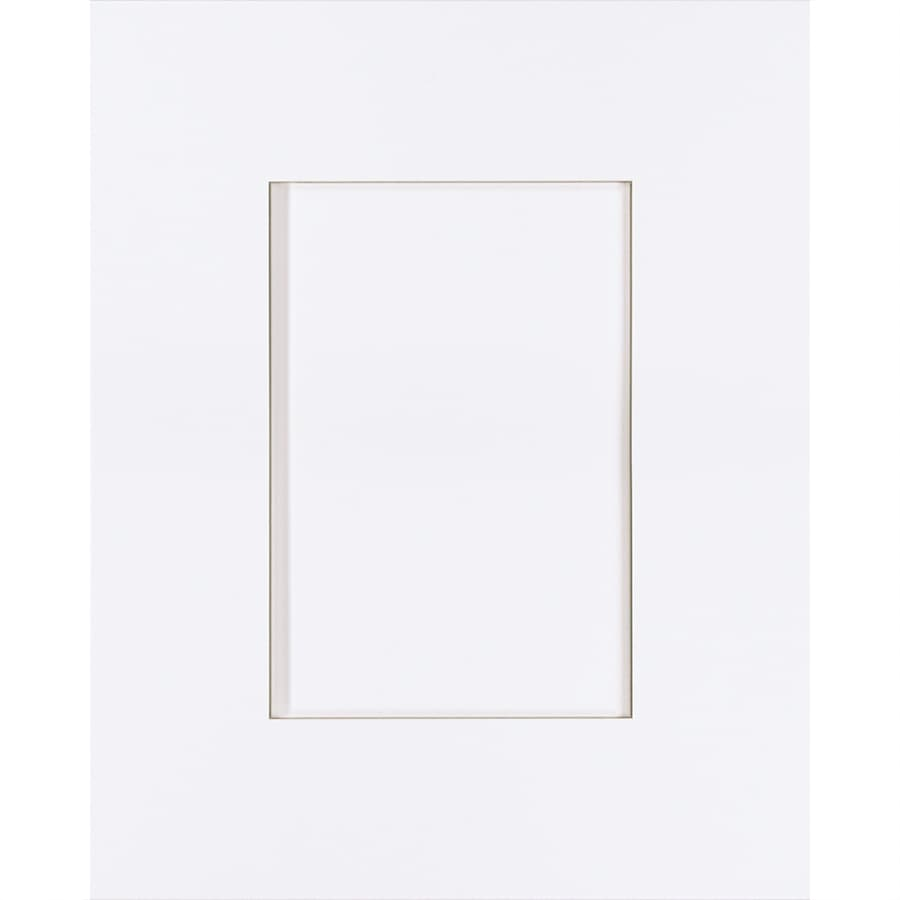 Latitude Image 15-in x 12-in White Painted Maple Shaker Cabinet Sample