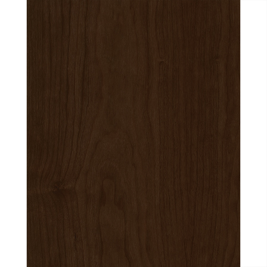 Latitude Urbana 15-in x 12-in Espresso Stained Cherry Slab Cabinet Sample