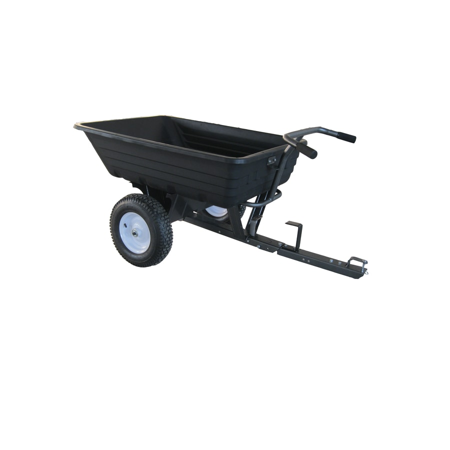 Shop Blue Hawk 10 cu ft Plastic Dump Cart at Lowescom