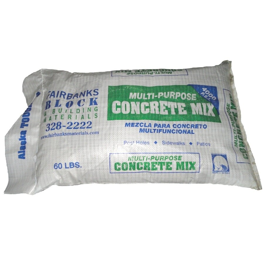 Fairbanks 60-lb Gray Hydraulic Concrete Mix