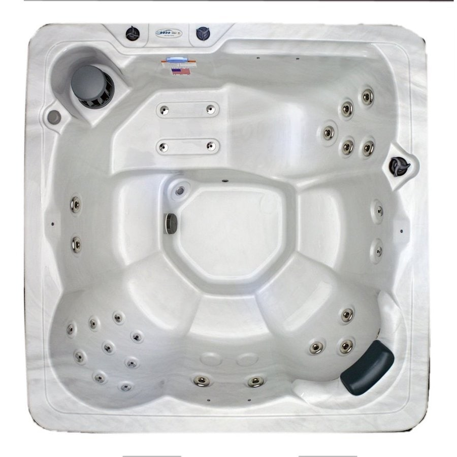 Shop Hudson Bay Spas 6-Person Square Hot Tub at Lowes.com