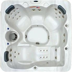 3ed9282c228 Home and Garden 5-Person 51-jet Square Hot Tub