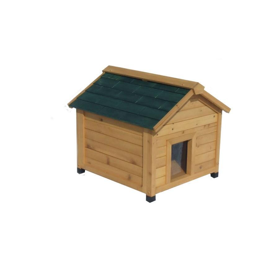 Shop Small Cedar Insulated Dog House at Lowes.com