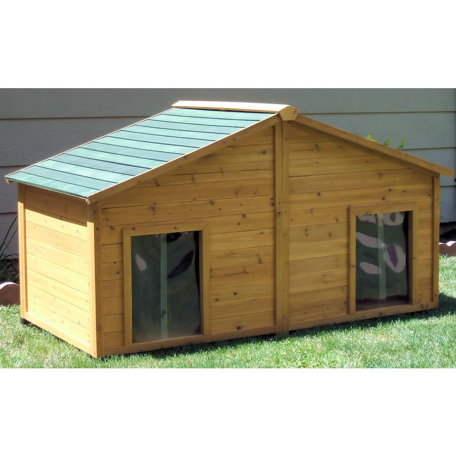 Large Cedar Dog House At Lowes.com