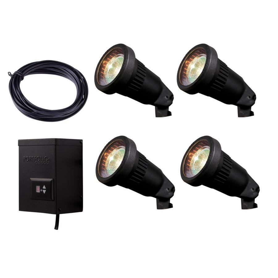 Portfolio 6 Light Track Lighting: Portfolio Low Voltage Lighting