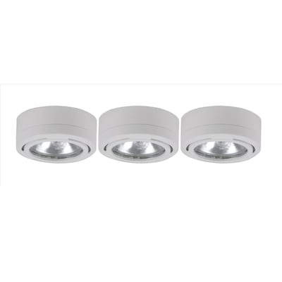 Utilitech 3 Pack 2 6 In Under Cabinet Xenon Puck Light At