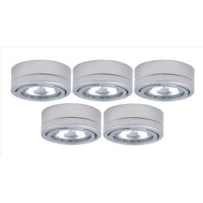 5 Pack 2 6 In Under Cabinet Xenon Puck Light