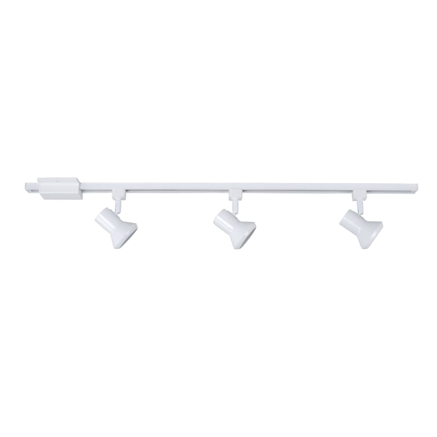 Project Source 3-Light 42-in White Step Linear Track Lighting Kit