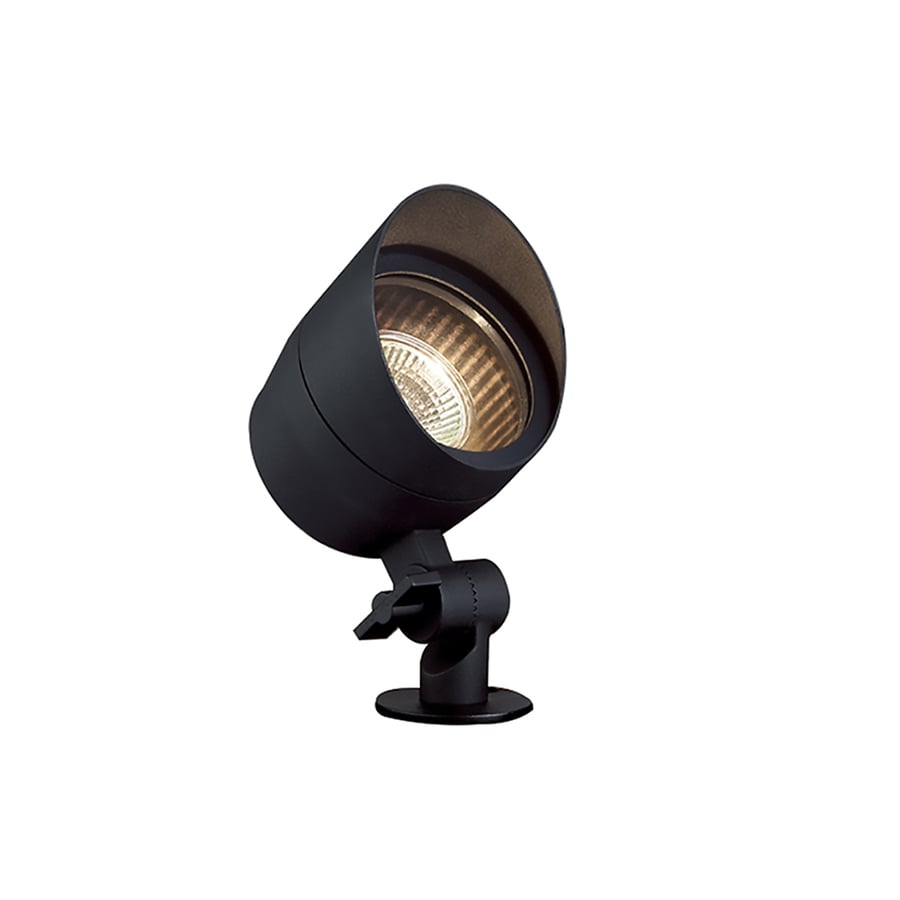 Portfolio 20-Watt Black Low Voltage Halogen Spot Light
