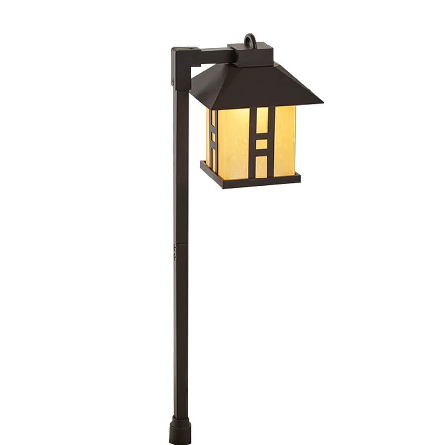 Portfolio Landscape Lighting Stakes : Portfolio watt specialty textured bronze low