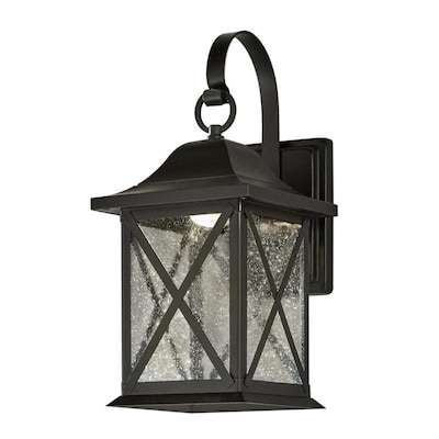 8 9 In H Black Dark Sky Led Outdoor Wall Light