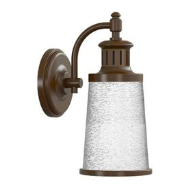 led outdoor wall lights white allen roth 155in bronze dark sky led outdoor wall light lights at lowescom