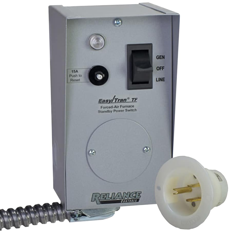 Shop Reliance Furnace Transfer Switch At Lowes Com