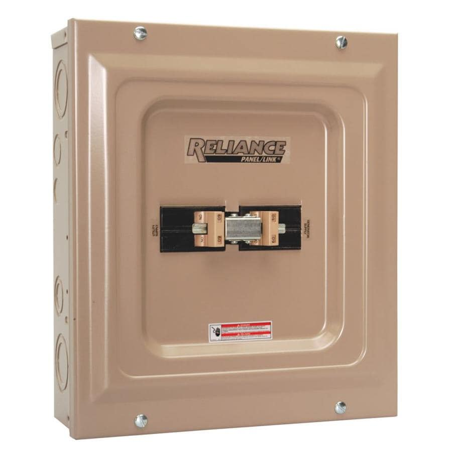 Reliance 100-Amp Utility/Generator Transfer Switch