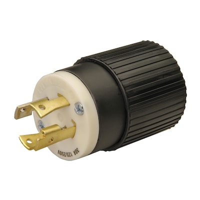 Reliance 30-Amp Twist Lock Plug at Lowes.com on