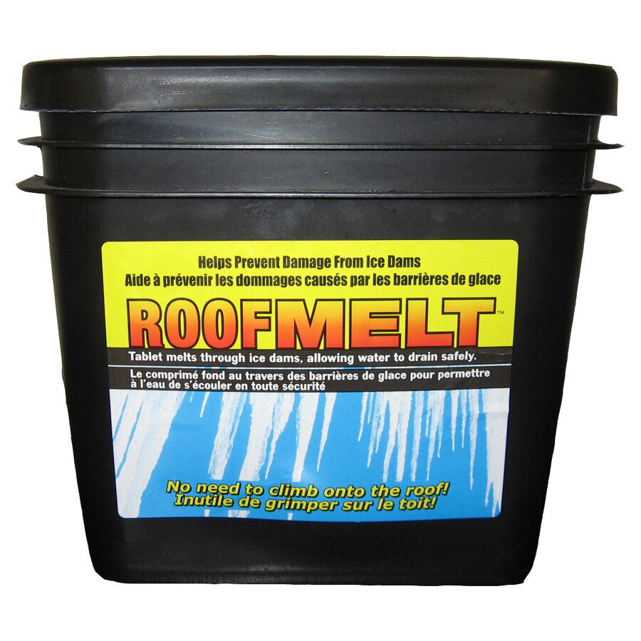 Ice Dam Remover Roof Melter Tablets - roofrake.com