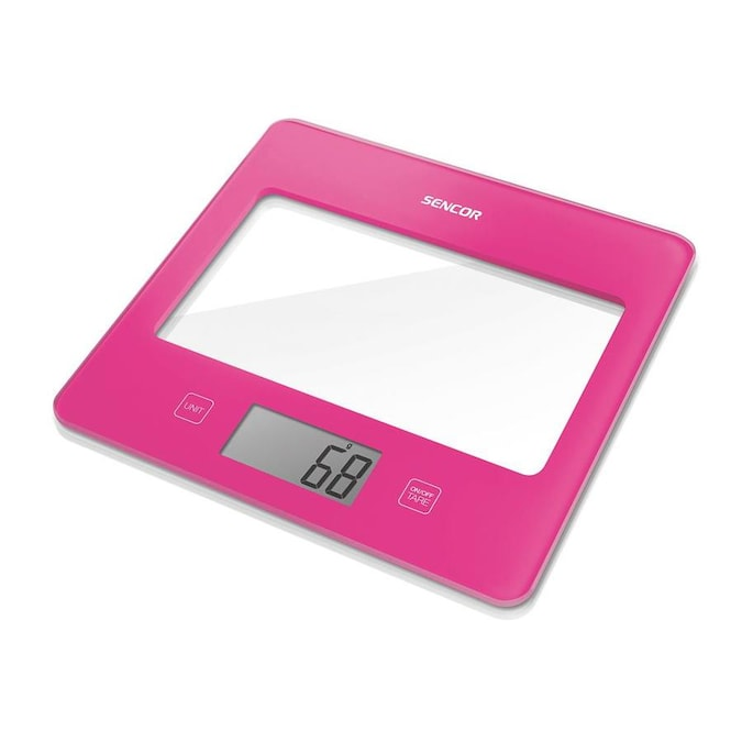 Sencor Sks5028rs Digital Kitchen Scale With Display Pink In The Specialty Small Kitchen Appliances Department At Lowes Com