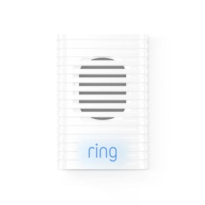 Ring Chime White Doorbell Extender at Lowes com