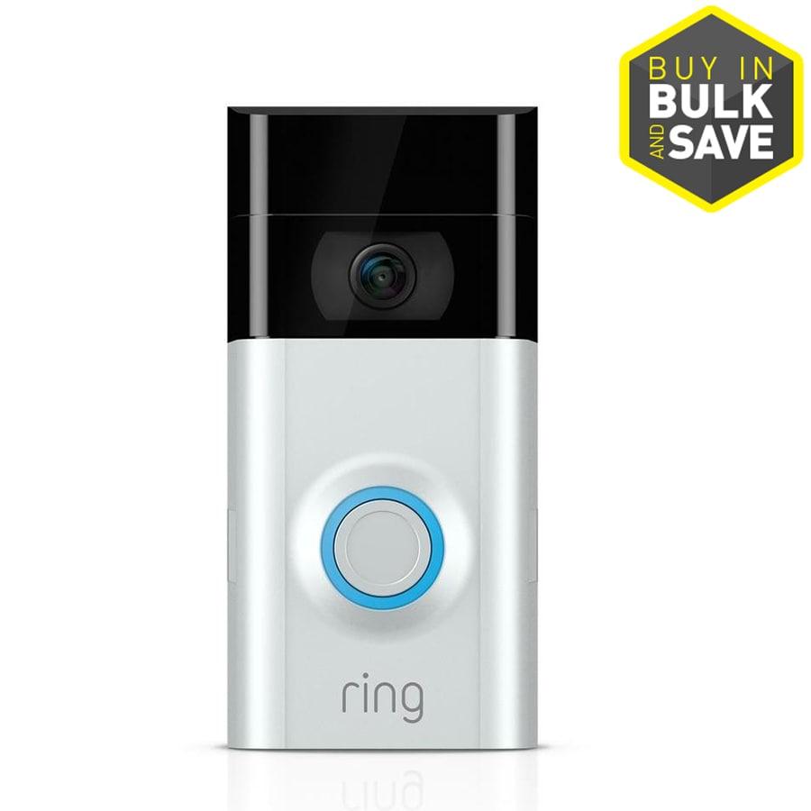 Ring Satin Nickel or Venetian Wireless Doorbell