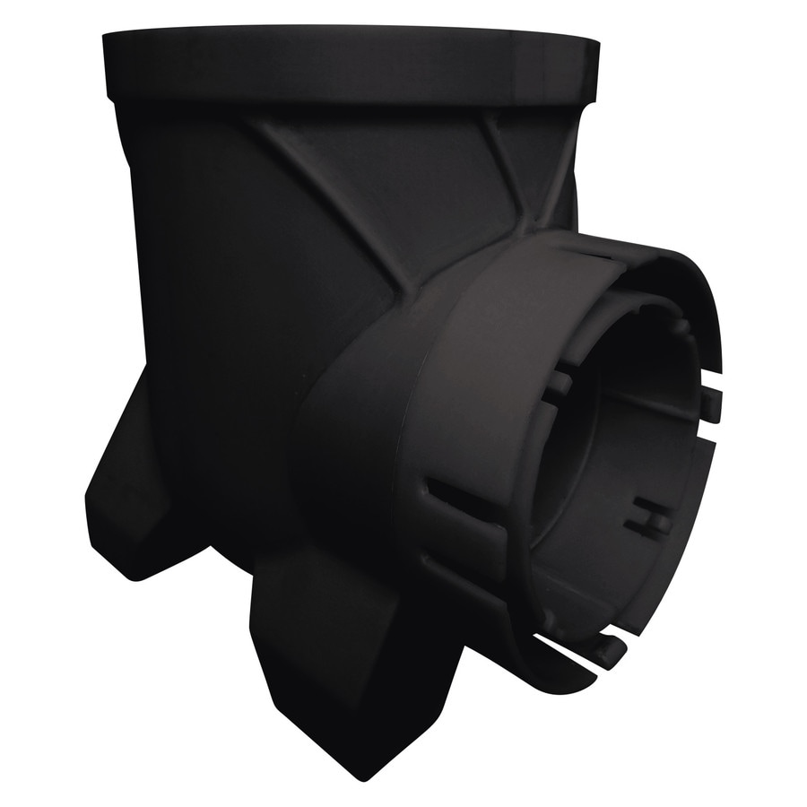 Bullet 6-in dia Round Single Outlet Catch Basin