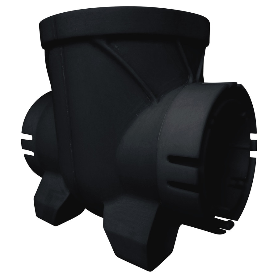 Bullet 6-in dia Round Double Outlet Catch Basin