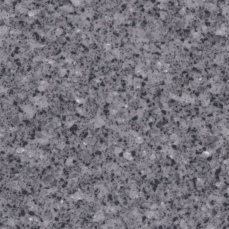 Shop Lg Hi Macs Sugarloaf Solid Surface Kitchen Countertop Sample At Lowes Com: Shop LG HI-MACS Volcanic Ice Solid Surface Kitchen