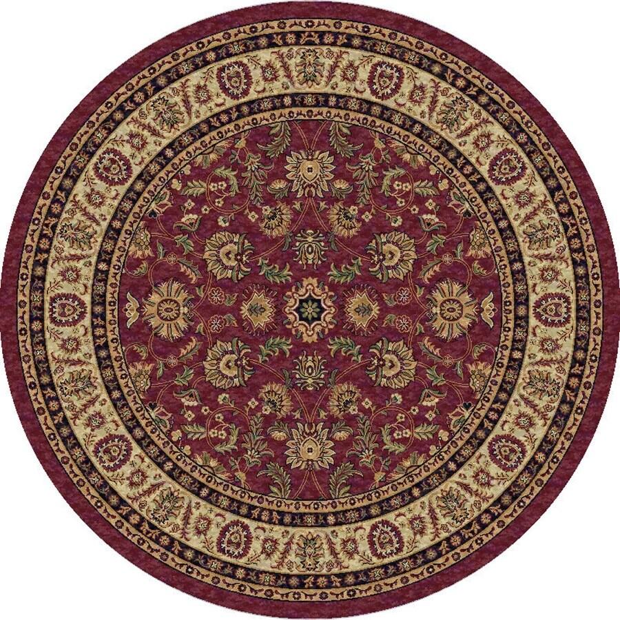Art Carpet Round Indoor Woven Area Rug (Common: 7 x 7; Actual: 79-in W x 79-in L)