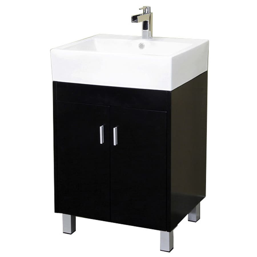 Shoptagr bellaterra home dark espresso 22 8 in integral single sink birch bathroom vanity with for Bathroom vanities china wholesale