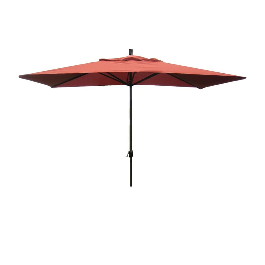 Shop Escada Designs Terracotta Market 10-ft Patio Umbrella at Lowes.com