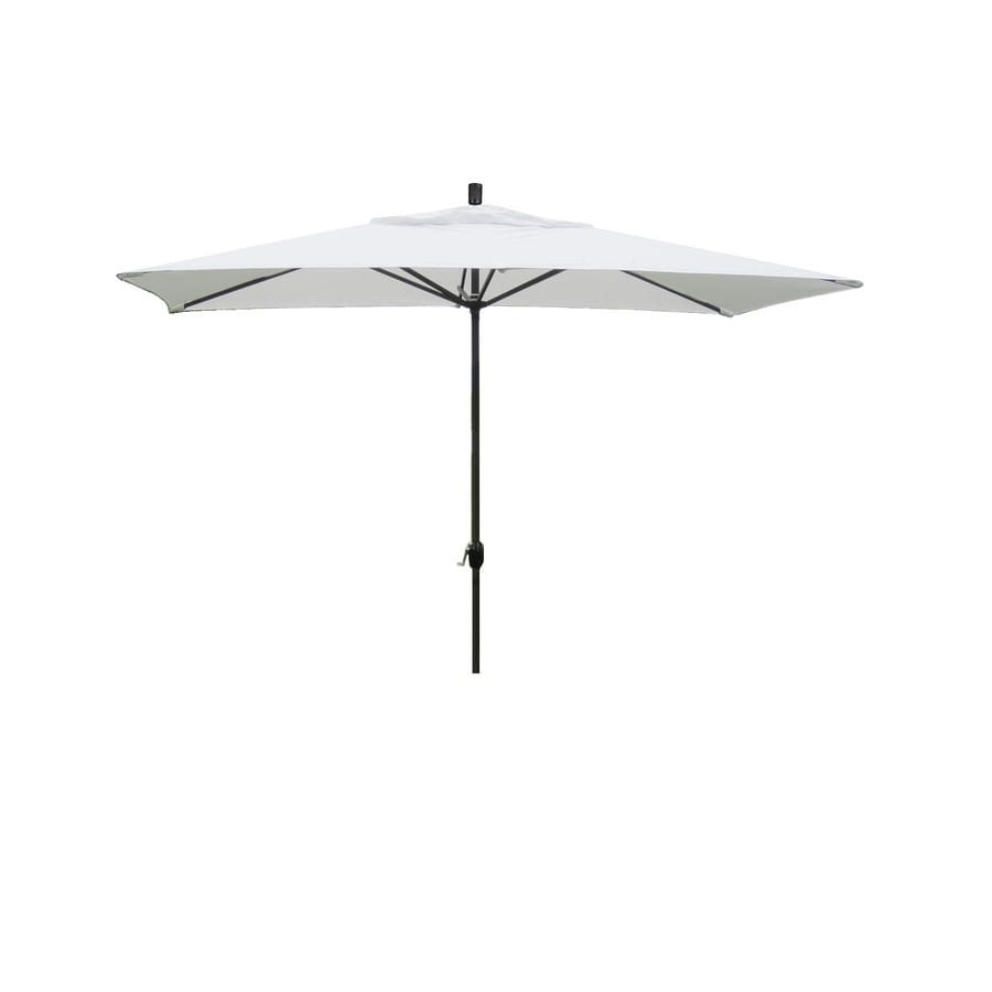 shop escada designs patio umbrella common 120 in w x 72
