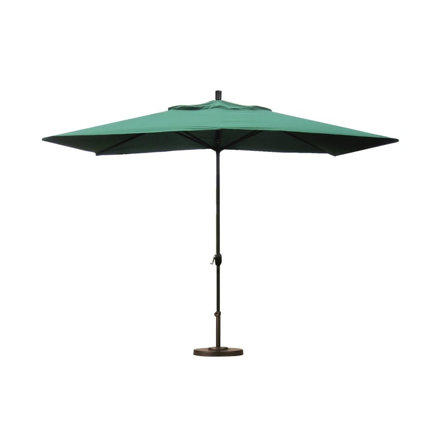 Umbrella Stand Designs : Shop escada designs hunter green market ft patio umbrella